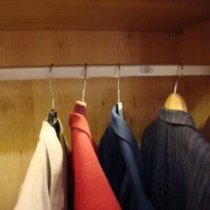 Wilro garderobestang 100cm