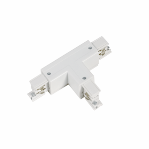 Wilro 3 fase T-vorm connector outside rechts (wit)
